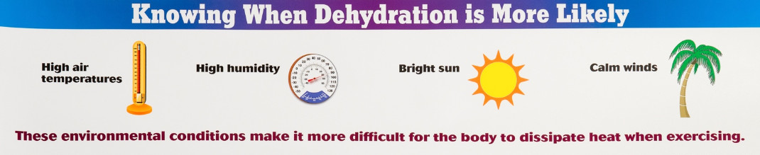 Knowing When Dehydration is More Likely