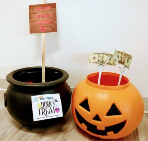 Halloween Collection Pots