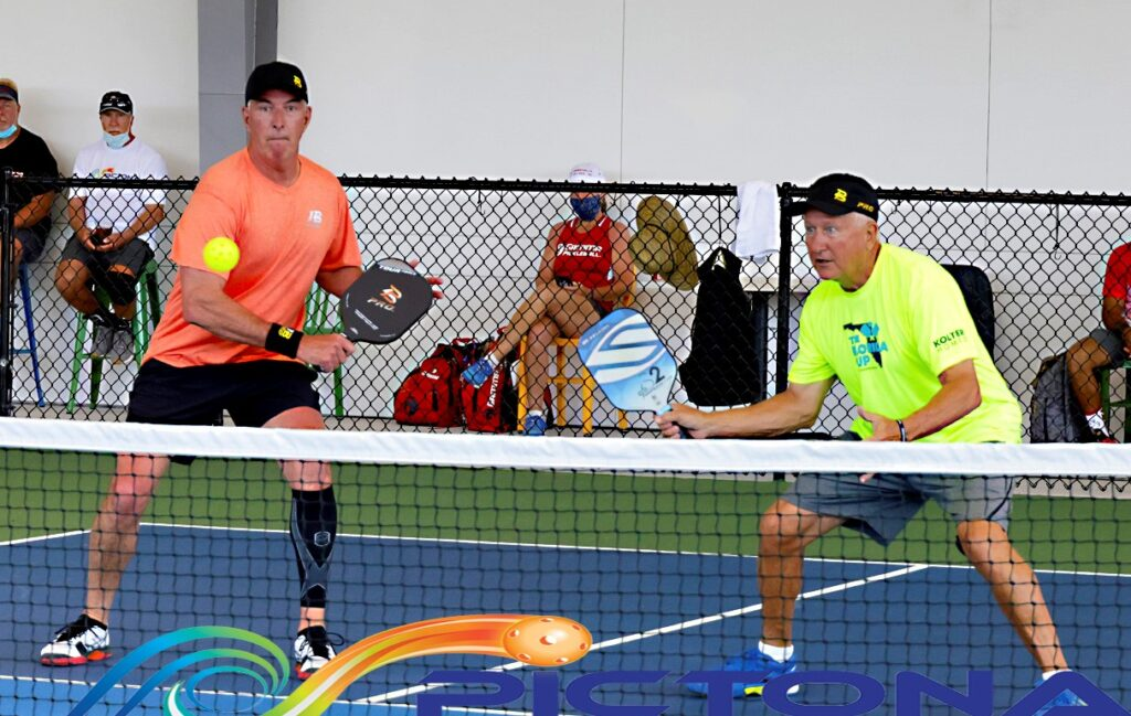 Pickleball Doubles Play