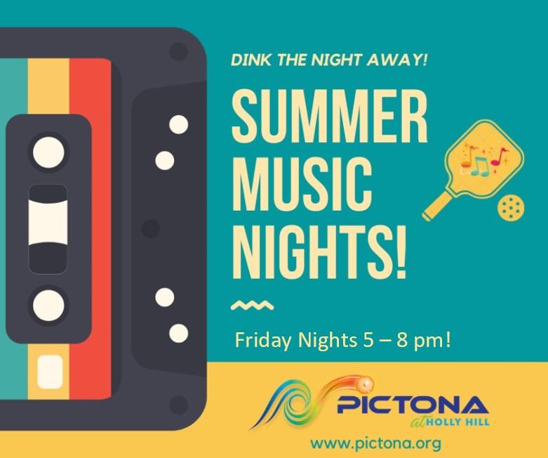 Music Night Graphic