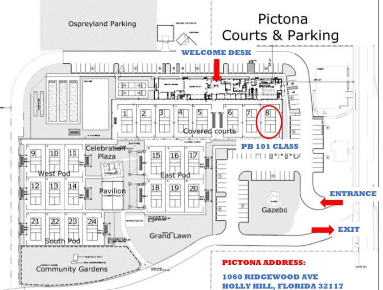 Parking Map Picture